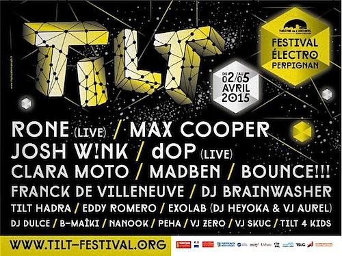 Flyer Exolab @ Tilt Festival - 500