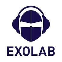 Exolab-Logo Bleu